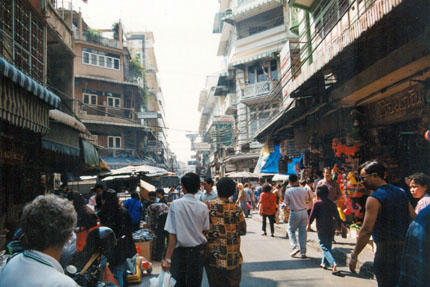 irgendwo in China Town Januar 1999