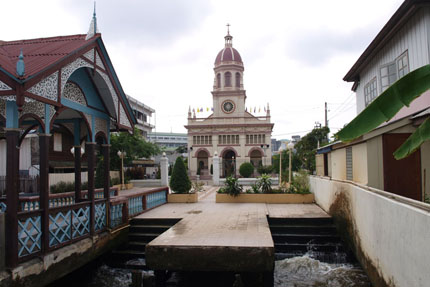Santa Cruz Church in Thonburi Januar 2013