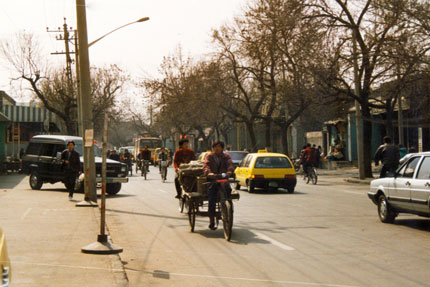 unterwegs in Beijing 1994