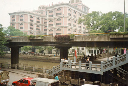 unterwegs  in Guangzhou 1994