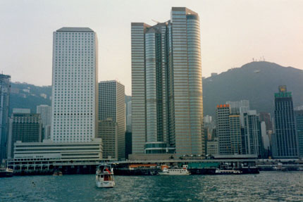 Star Ferry Pier Central 1985