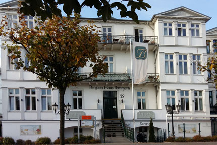 Pension Haus Pommern in Ahlbeck Oktober 2015