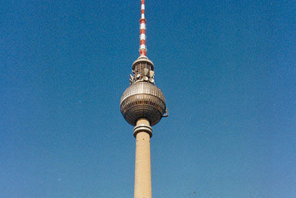 Fernsehturm April 1990