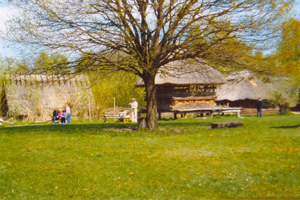 Museumsdorf Düppel April 2004