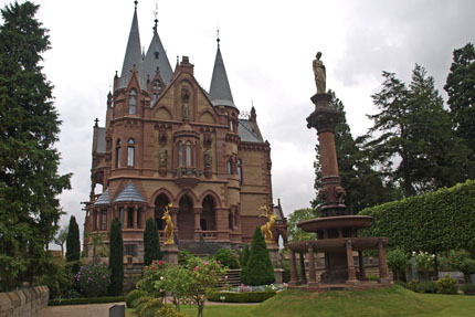 Schloss Drachenburg August 2012