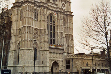 Westminster Abbey Februar 1995