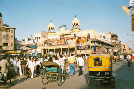 irgendwo in Old Delhi 1989
