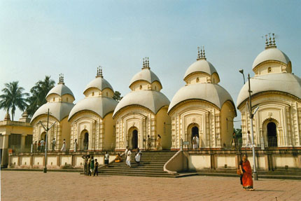 Belur Math in Kalkutta 1989