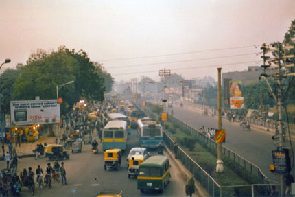 irgendwo in Old Delhi 1985
