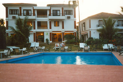 Ronils Beach Resort in Baga 1989