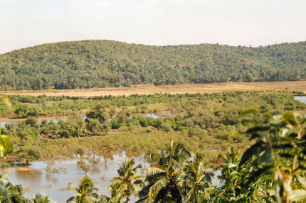 unterwegs in Goa 1989