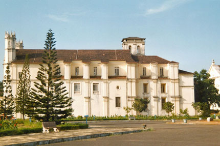 Santa Catarina Kloster Old Goa 1989