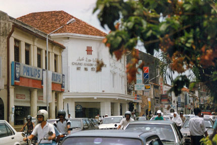Lebuh Chulia in Georgetown 1991