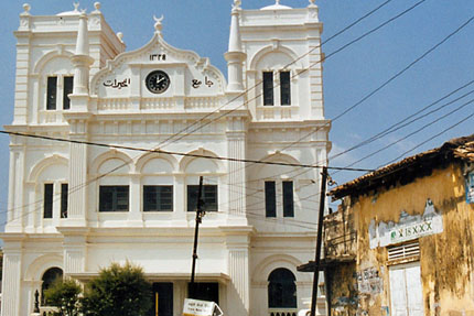 Moschee in Galle 2002