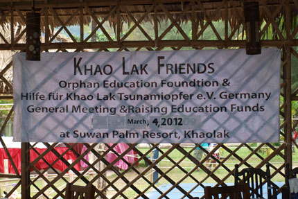 Khao Lak Friends 2012