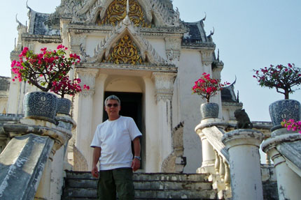 Palast Khao Wang in Petchaburi 2008