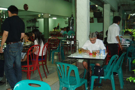Restaurant in Petchaburi 2008