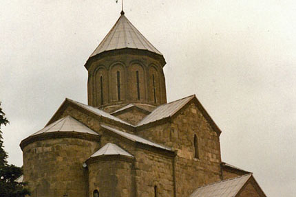 Metechi-Kirche  in Tbilisi (Tiflis) September 1987