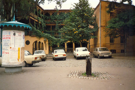 unterwegs in Tbilisi (Tiflis) September 1987