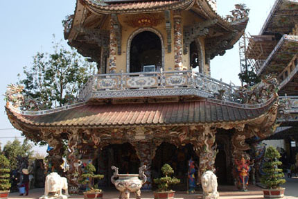 Linh Phuoc Pagode in Trai Mat 2014